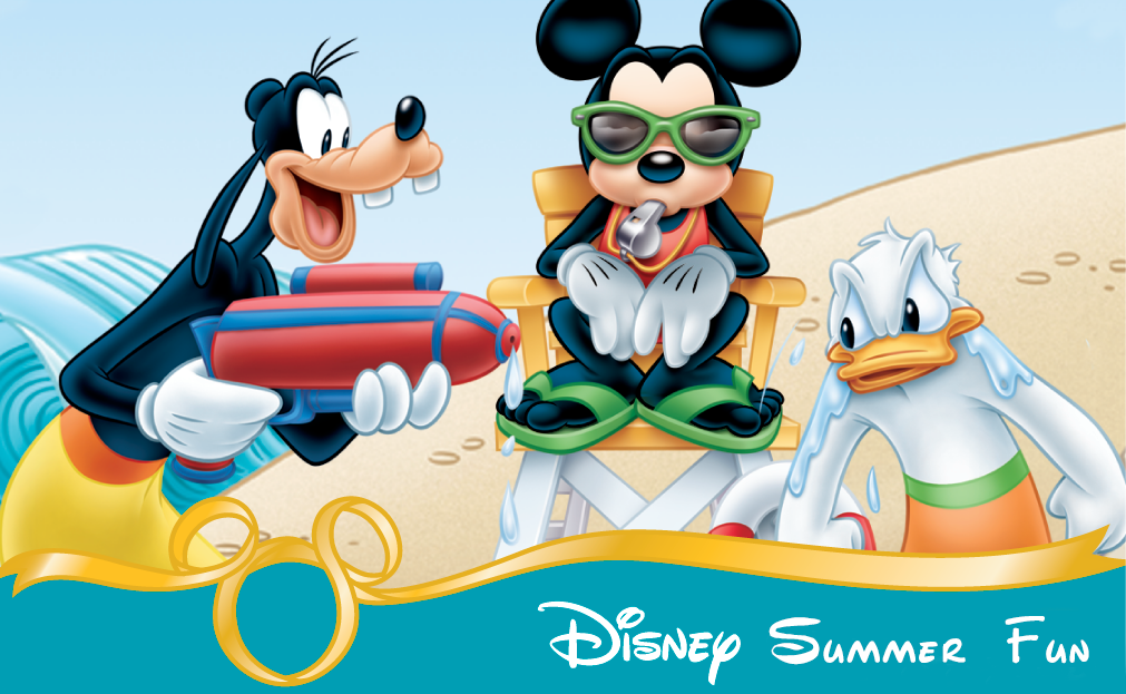 Disney Summer Fun Banner